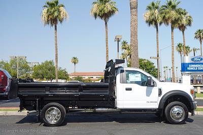 2021 Ford F-550 Regular Cab DRW 4x4, Rugby Eliminator LP Steel Dump Body #21P368 - photo 11