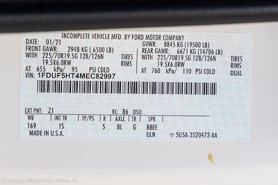2021 Ford F-550 Regular Cab DRW 4x4, Rugby Eliminator LP Steel Dump Body #21P368 - photo 25