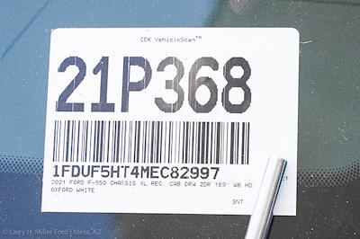 2021 Ford F-550 Regular Cab DRW 4x4, Rugby Eliminator LP Steel Dump Body #21P368 - photo 26
