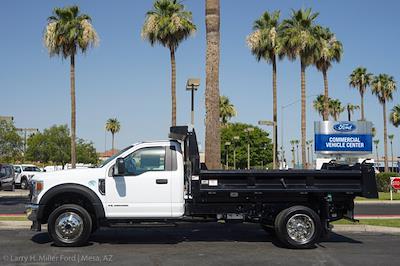 2021 Ford F-550 Regular Cab DRW 4x4, Rugby Eliminator LP Steel Dump Body #21P368 - photo 5
