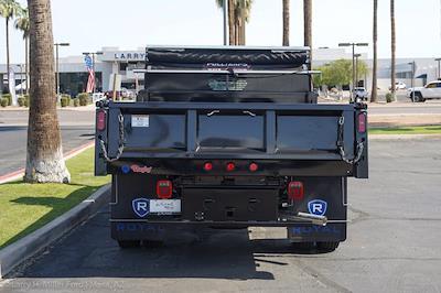 2021 Ford F-550 Regular Cab DRW 4x4, Rugby Eliminator LP Steel Dump Body #21P368 - photo 8