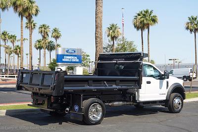 2021 Ford F-550 Regular Cab DRW 4x4, Rugby Eliminator LP Steel Dump Body #21P368 - photo 9