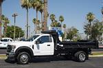 2021 Ford F-550 Regular Cab DRW 4x4, Rugby Eliminator LP Steel Dump Body #21P368 - photo 3