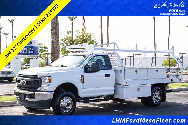 2021 Ford F-350, Royal Contractor Body