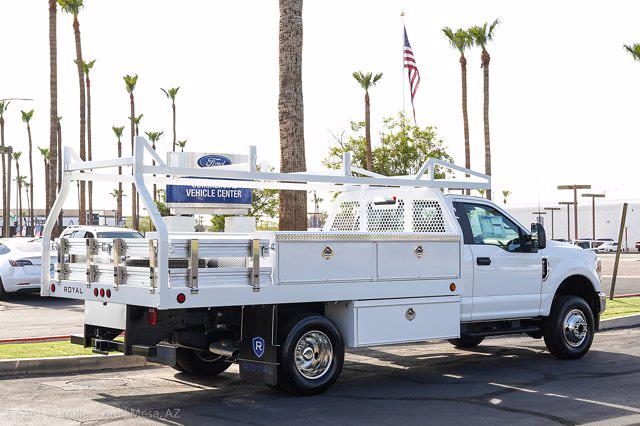 2021 Ford F-350 Regular Cab DRW 4x4, Royal Truck Body Contractor Body #21P375 - photo 10