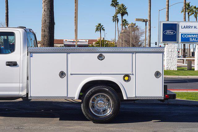 2021 Ford F-350 Crew Cab DRW 4x2, Royal Truck Body Service Body #21P377 - photo 6