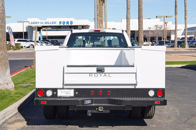 2021 Ford F-350 Crew Cab DRW 4x2, Royal Truck Body Service Body #21P377 - photo 9