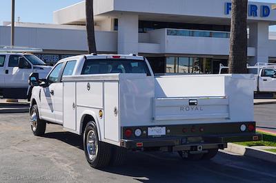 2021 Ford F-350 Crew Cab DRW 4x2, Royal Truck Body Service Body #21P377 - photo 2