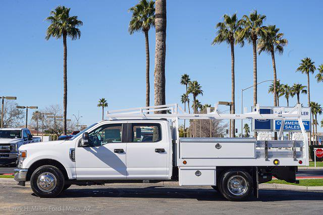 2021 Ford F-350 Crew Cab DRW 4x2, Royal Truck Body Contractor Body #21P378 - photo 5