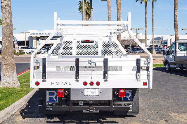 2021 Ford F-350 Crew Cab DRW 4x2, Royal Truck Body Contractor Body #21P378 - photo 9