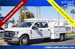 2021 Ford F-350 Crew Cab DRW 4x2, Royal Truck Body Contractor Body #21P378 - photo 1