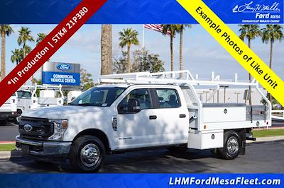 2021 Ford F-350 Crew Cab DRW 4x2, Royal Truck Body Contractor Body #21P380 - photo 1