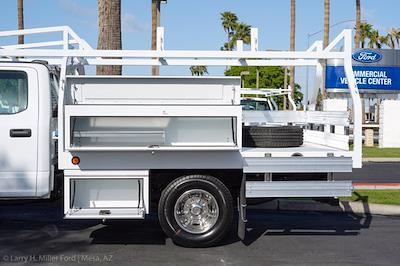 2021 Ford F-350 Crew Cab DRW 4x2, Royal Truck Body Contractor Body #21P380 - photo 7