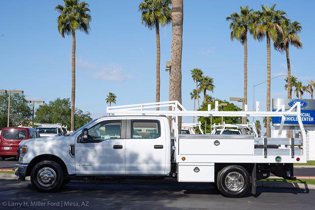 2021 Ford F-350 Crew Cab DRW 4x2, Royal Truck Body Contractor Body #21P381 - photo 5