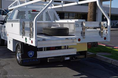 2021 Ford F-350 Crew Cab DRW 4x2, Royal Truck Body Contractor Body #21P381 - photo 9