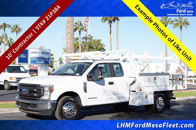 2021 Ford F-350 Super Cab DRW 4x2, Royal Truck Body Contractor Body #21P384 - photo 1