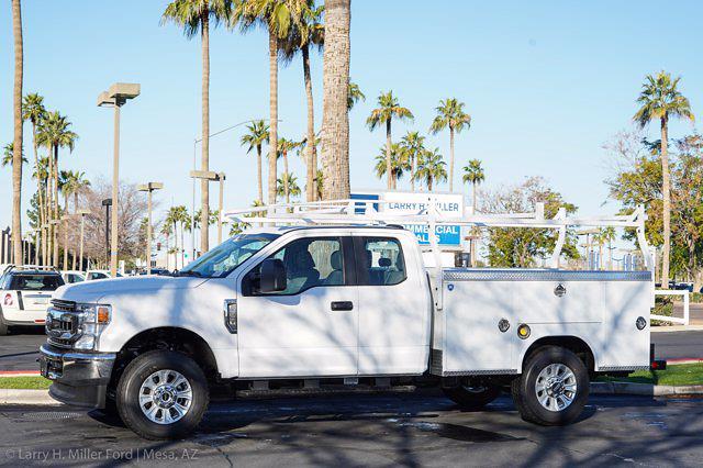 2021 Ford F-350 Super Cab 4x4, Royal Truck Body Service Body #21P392 - photo 3