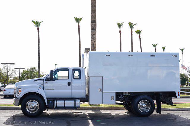 2021 Ford F-650 Super Cab DRW 4x2, Arbortech Chipper Body #21P398 - photo 1