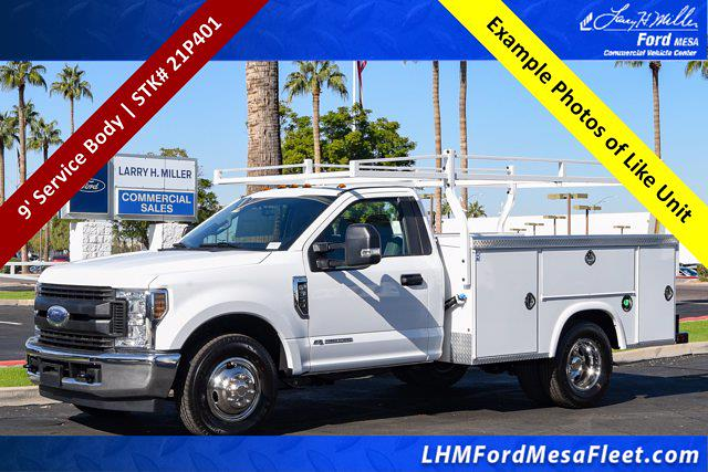 2021 Ford F-350 Regular Cab DRW 4x2, Royal Truck Body Service Body #21P401 - photo 1