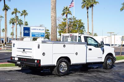 2021 Ford F-350 Regular Cab DRW 4x2, Royal Truck Body Service Body #21P401 - photo 11