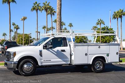 2021 Ford F-350 Regular Cab DRW 4x2, Royal Truck Body Service Body #21P401 - photo 3