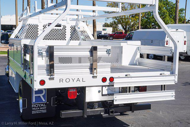 2021 Ford F-450 Regular Cab DRW 4x4, Royal Truck Body Contractor Body #21P404 - photo 10