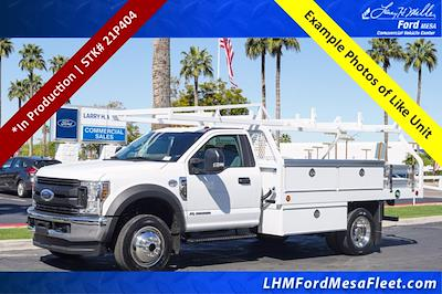 2021 Ford F-450 Regular Cab DRW 4x4, Royal Truck Body Contractor Body #21P404 - photo 1