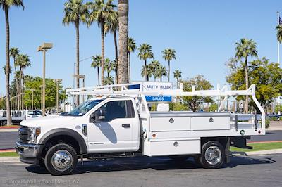 2021 Ford F-450 Regular Cab DRW 4x4, Royal Truck Body Contractor Body #21P404 - photo 3