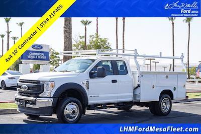 2021 Ford F-450 Super Cab DRW 4x4, Royal Truck Body Contractor Body #21P405 - photo 1