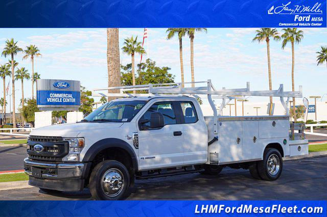 2021 Ford F-550 Super Cab DRW 4x4, Royal Truck Body Utility Crane Body Mechanics Body #21P407 - photo 1