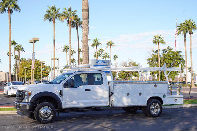 2021 Ford F-550 Super Cab DRW 4x4, Royal Truck Body Utility Crane Body Mechanics Body #21P407 - photo 3