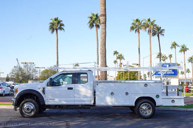 2021 Ford F-550 Super Cab DRW 4x4, Royal Truck Body Utility Crane Body Mechanics Body #21P407 - photo 2
