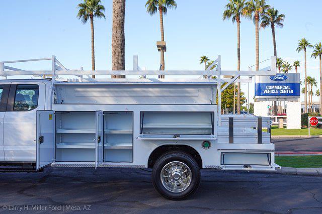 2021 Ford F-550 Super Cab DRW 4x4, Royal Truck Body Utility Crane Body Mechanics Body #21P407 - photo 6