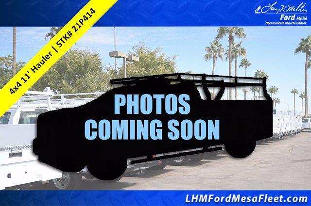 2021 Ford F-550 Super Cab DRW 4x4, CM Truck Beds Hauler Body #21P414 - photo 1