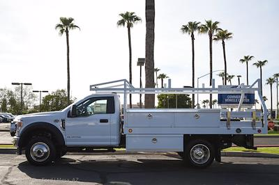 2021 Ford F-450 Regular Cab DRW 4x4, Royal Truck Body Contractor Body #21P416 - photo 2