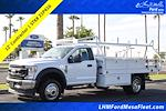 2021 Ford F-450 Regular Cab DRW 4x4, Royal Truck Body Contractor Body #21P416 - photo 1