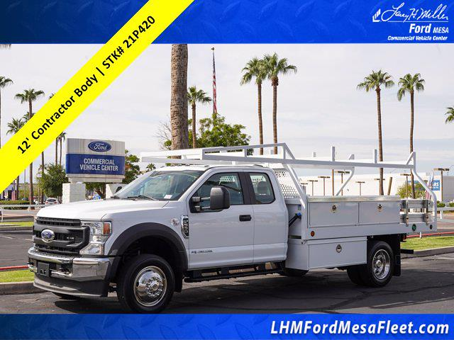 2021 Ford F-550, Royal Contractor Body