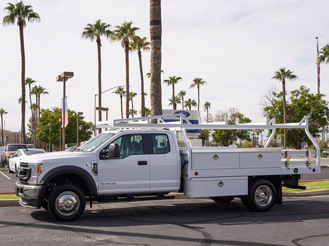 2021 Ford F-550 Super Cab DRW 4x2, Royal Truck Body Contractor Body #21P420 - photo 3