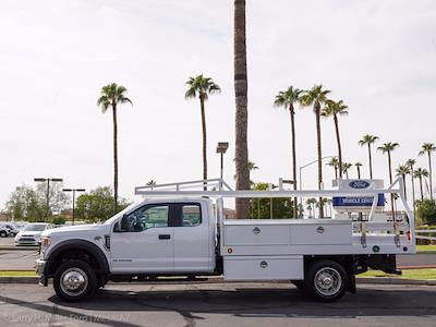 2021 Ford F-550 Super Cab DRW 4x2, Royal Truck Body Contractor Body #21P420 - photo 2