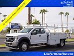 2021 F-550 Super Cab DRW 4x2,  Royal Truck Body Contractor Body #21P420 - photo 1