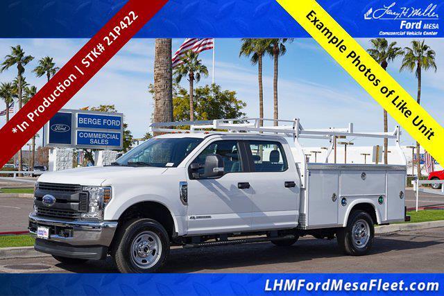 2021 Ford F-350 Crew Cab 4x4, Royal Truck Body Service Body #21P422 - photo 1