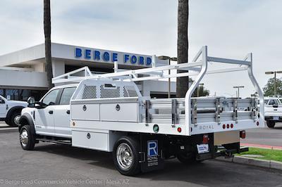 2021 F-550 Crew Cab DRW 4x2,  Royal Truck Body Contractor Body #21P423 - photo 2