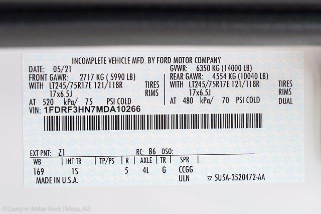 2021 Ford F-350 Regular Cab DRW 4x4, Knapheide Value-Master X Platform Body #21P425 - photo 24