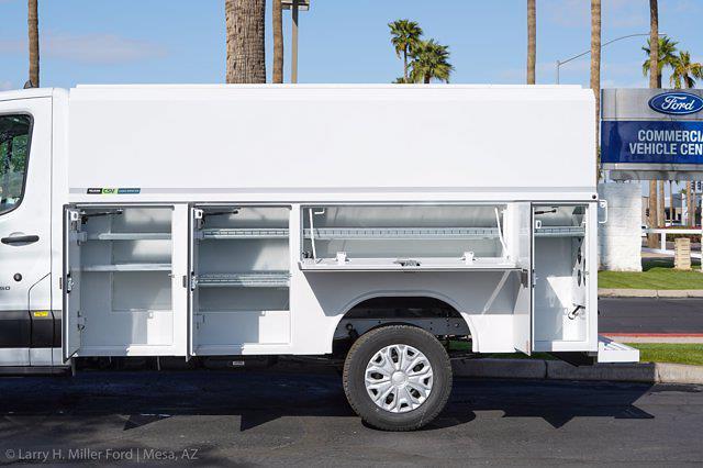 2021 Transit 350 Low Roof 4x2,  Reading Aluminum CSV Service Utility Van #21P433 - photo 6