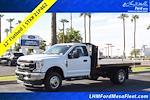 2021 F-350 Regular Cab DRW 4x4,  Monroe Truck Equipment Work-A-Hauler II Platform Body #21P462 - photo 1