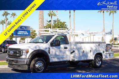 2021 F-550 Regular Cab DRW 4x2,  Royal Truck Body Service Combo Body #21P465 - photo 1