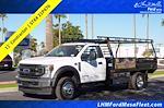 2021 F-550 Regular Cab DRW 4x2,  Blue Ridge Manufacturing (Freedom) Contractor Body #21P476 - photo 1