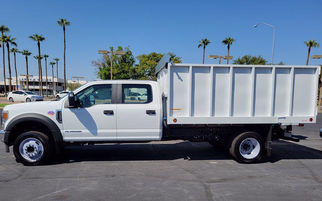 2021 F-450 Crew Cab DRW 4x2,  Royal Truck Body Landscape Dump #21P484 - photo 4