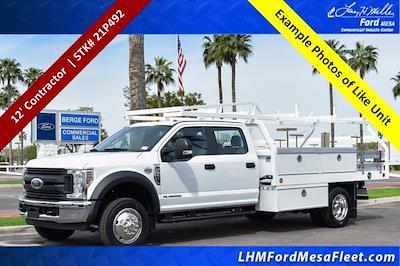2021 F-550 Crew Cab DRW 4x2,  Royal Truck Body Contractor Body #21P492 - photo 1