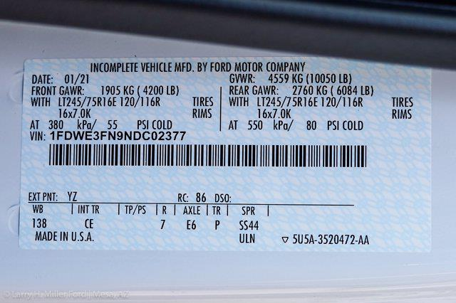 2022 Ford E-350 4x2, Knapheide KUV Service Utility Van #22P012 - photo 26